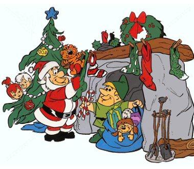 webrock a flintstone christmas